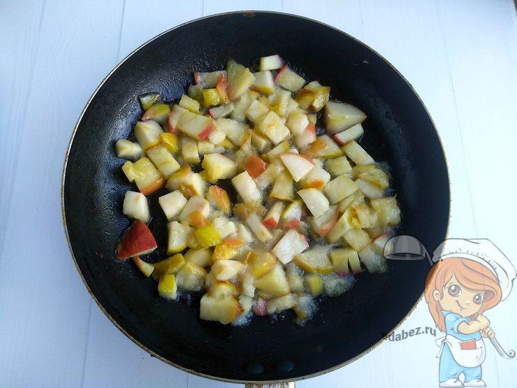 Пассеруем яблоки