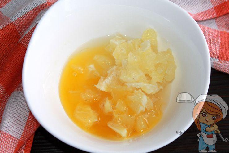 Соединяем лимон с медом