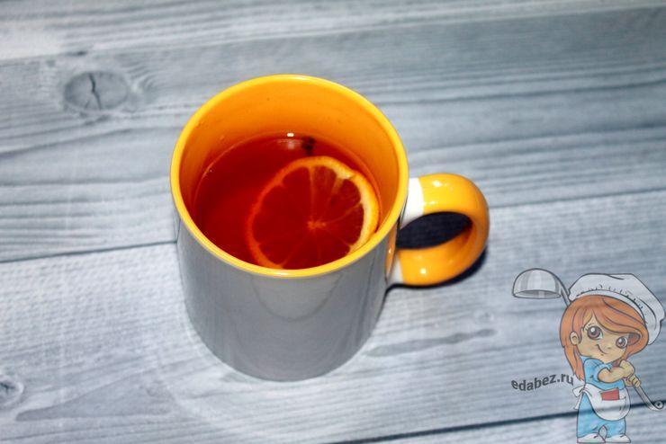 Чай с гвоздикой и имбирем - пошаговый рецепт