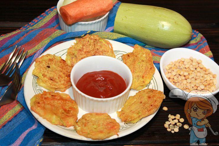 Овощные пакоры - рецепт с фото