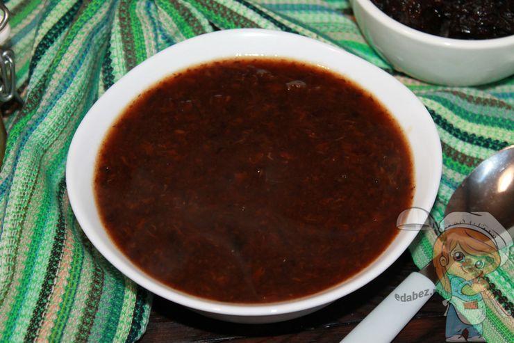 Кисель из чернослива - рецепт с фото