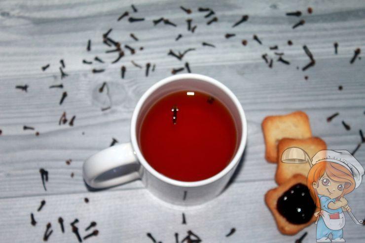 Полезные свойства чая с гвоздикой
