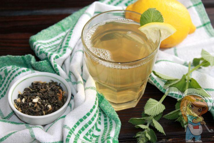 Мята с лимоном для похудения - рецепт с фото