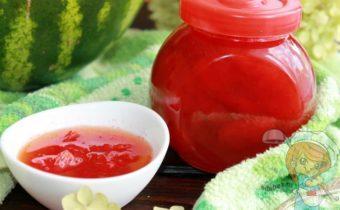 Варенье из арбуза - рецепт на зиму