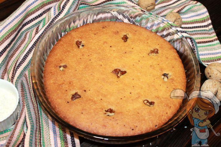 Пирог арабская басбуса - рецепт приготовления