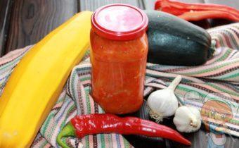 Лечо из кабачков - рецепт с фото
