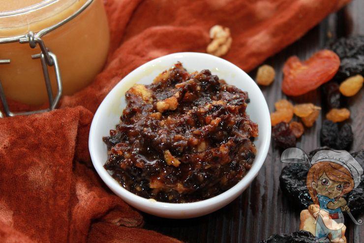 Мед с сухофруктами для иммунитета - рецепт пп смеси