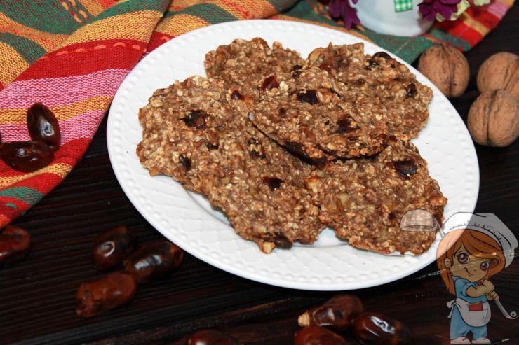 Овсяное печенье в домашних условиях без муки