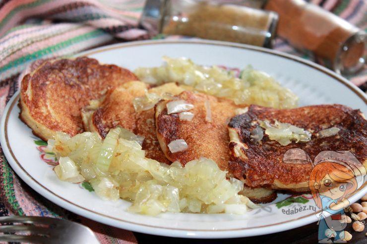 Оладьи из гороховой муки - рецепт