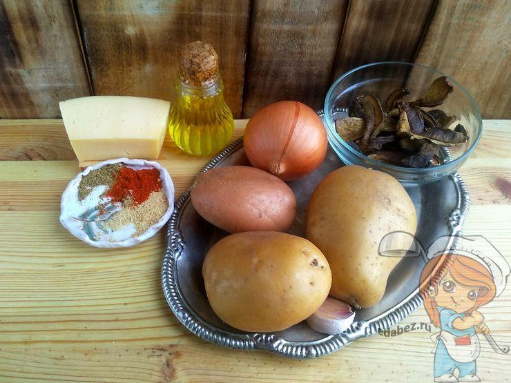 Ингредиенты для картофельных биточков