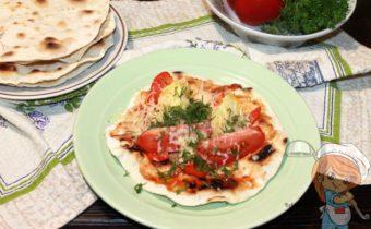Итальянская лепешка Пьядина - рецепт с фото