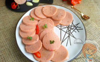 Веганская колбаса без мяса
