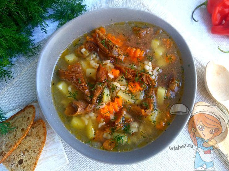 Суп груздянка - как приготовить вкусно