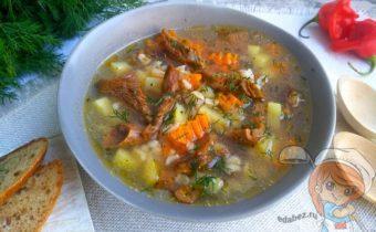 Груздянка из груздей - рецепт с фото