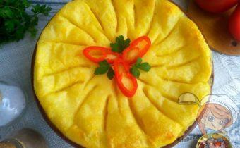 Пастуший пирог - сытная картофельная запеканка, рецепт с фото