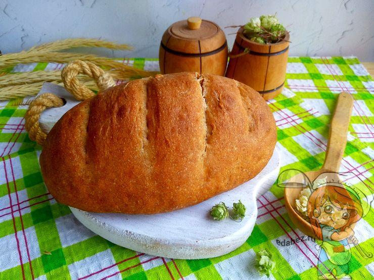 Хлеб на закваске из хмеля в домашних условиях