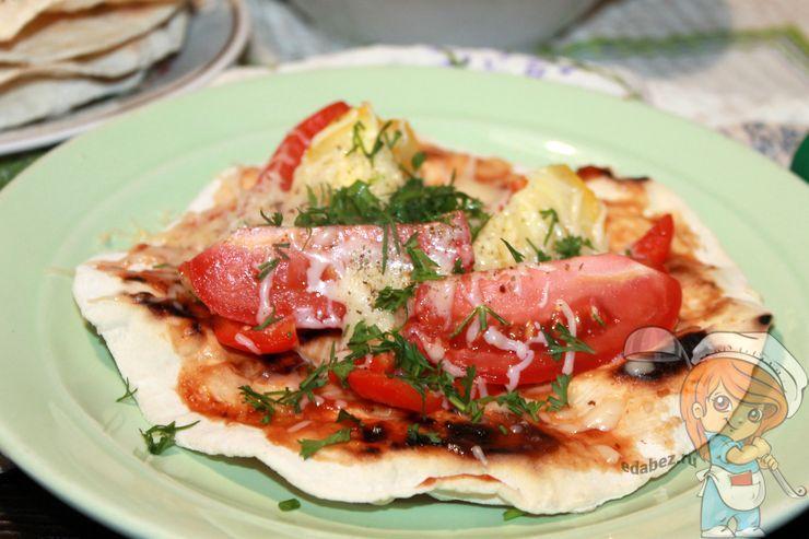 Пьядина, рецепт итальянской лепешки с начинкой