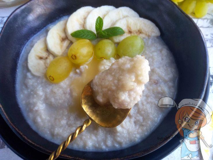 ПП кокосовая каша - рецепт с фото