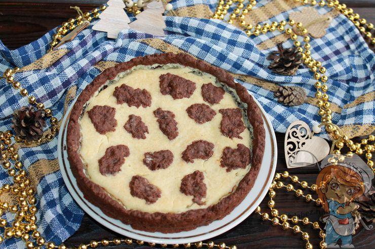 Творожный пирог Буренка - рецепт с фото