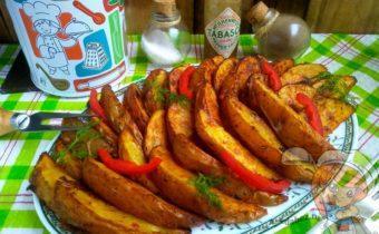 картофель Айдахо в домашних условиях - рецепт в духовке