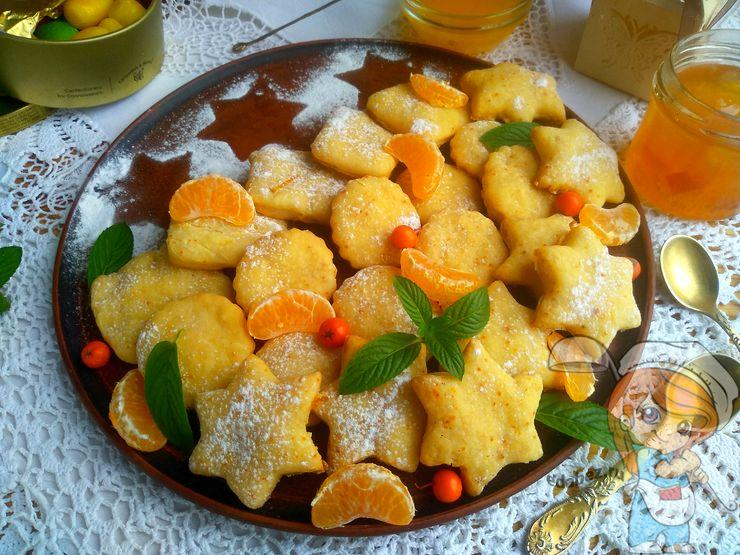 Домашнее сметанное печенье - простой рецепт