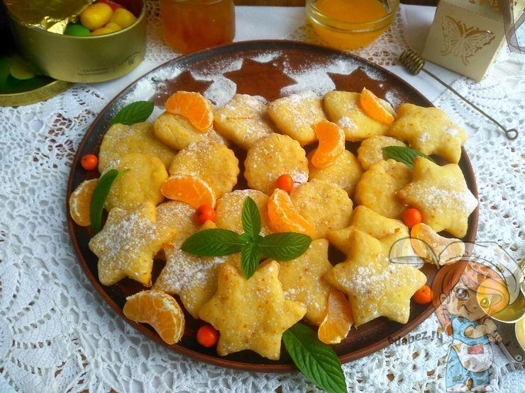 Сметанное печенье - домашняя выпечка