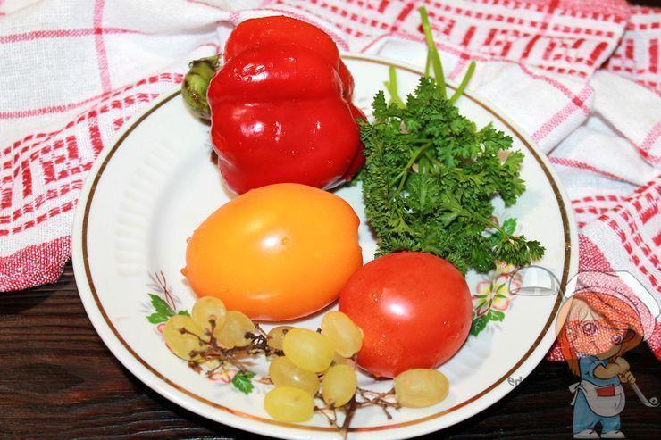 Моем овощи, зелень и фрукты