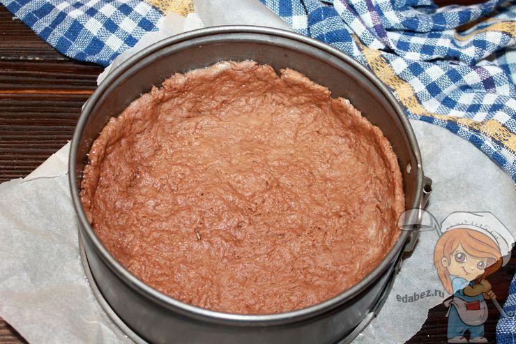 Раскладываем основу пирога