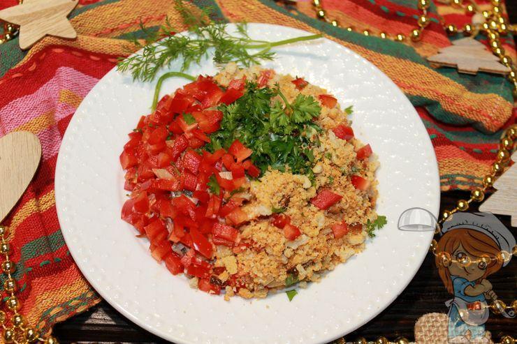 Новый новогодний салат - рецепт с фото