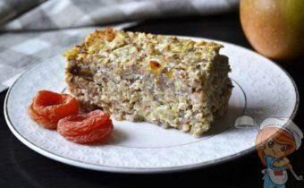 Запеканка из гречки в духовке - рецепт с фото