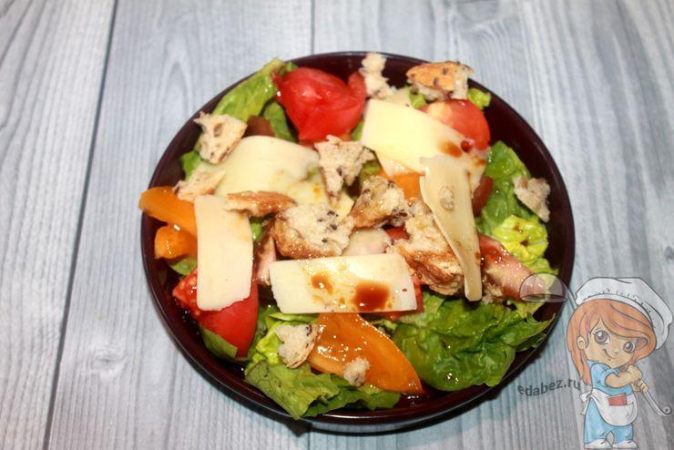 Полезный и вкусный салат Ромен