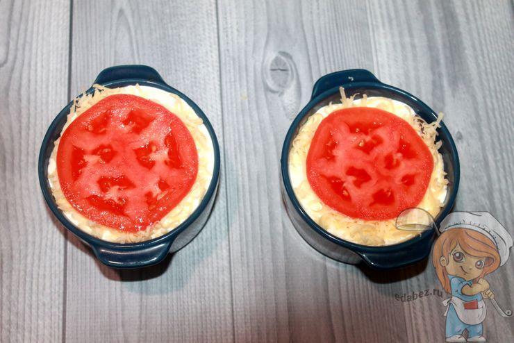 Украшаем помидоркой