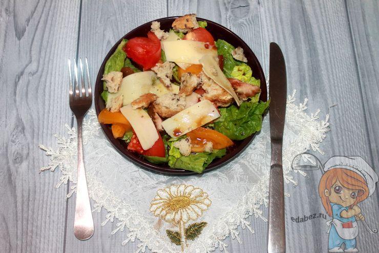 Салат Ромен - рецепт с фото