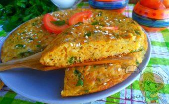 Пирог с капустой на сковороде - быстро и вкусно
