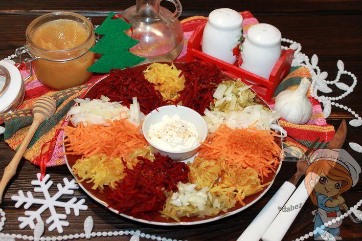 Вкусный салат Чафан - пошаговый рецепт