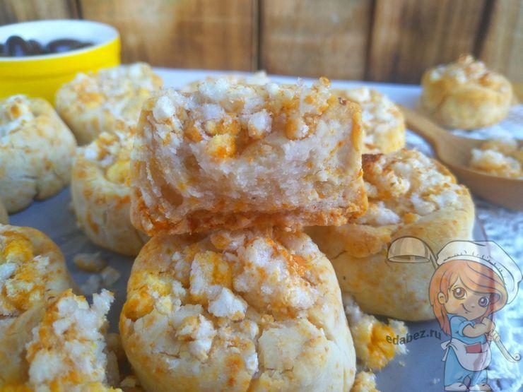 Рисовое печенье без яиц из рисовой муки