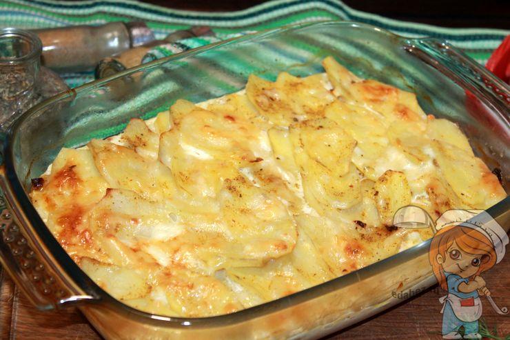 Картофель Дофине - рецепт в духовке