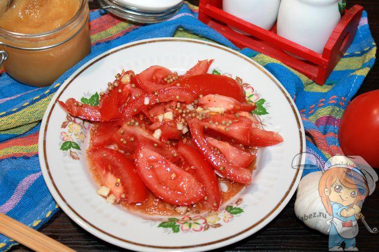 Помидоры по-корейски - быстрый рецепт