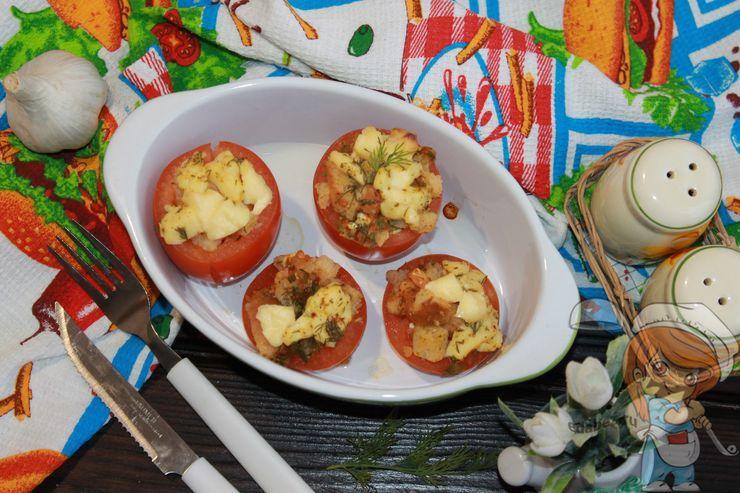 Запеченные помидоры в духовке