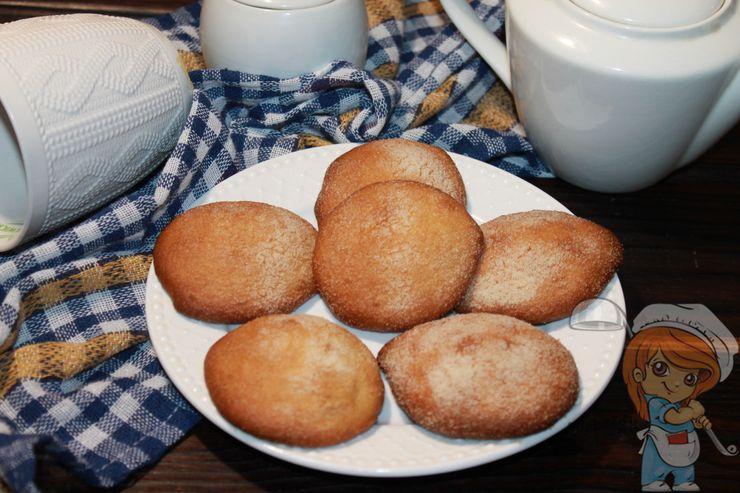 Печенье из манки без  муки