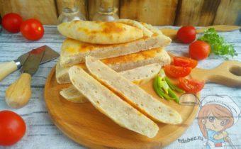 хлеб на сковороде - быстрый рецепт