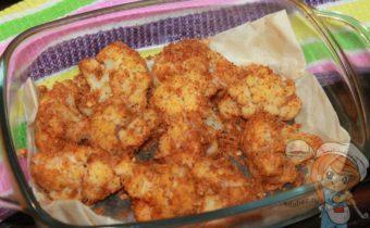 Цветная капуста в панировочных сухарях - как приготовить вкусно
