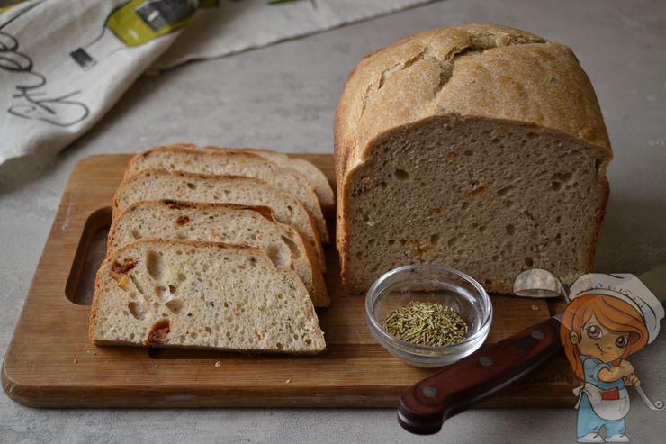 Рецепт постного хлеба без дрожжей