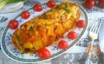 Картофельный рулет - рецепт с фото