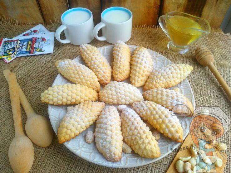 Арахисовое печенье без сахара