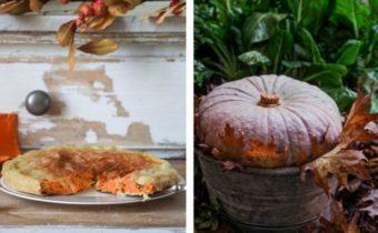 Итальянский тыквенный пирог