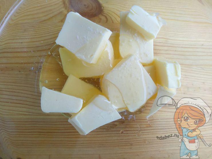 Масло кубиками