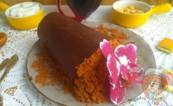 Мамин любимый цветок - десерт