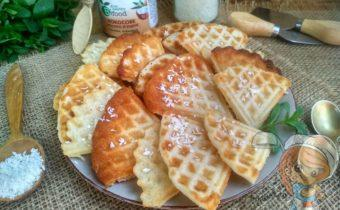 Кокосовые вафли - рецепт в вафельнице