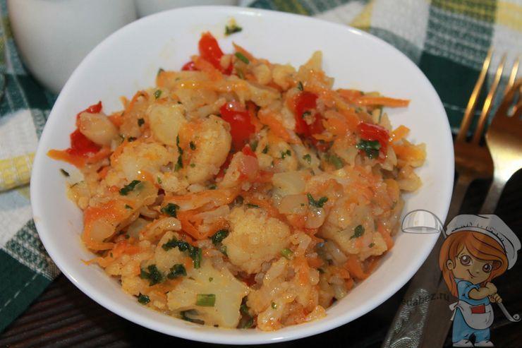 Как приготовить рагу с цветной капустой